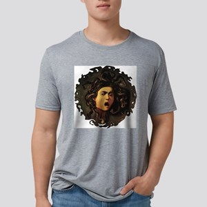 Medusa_by_Carvaggio[1] Mens Tri-blend T-Shirt